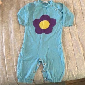 Baby Boden knit romper